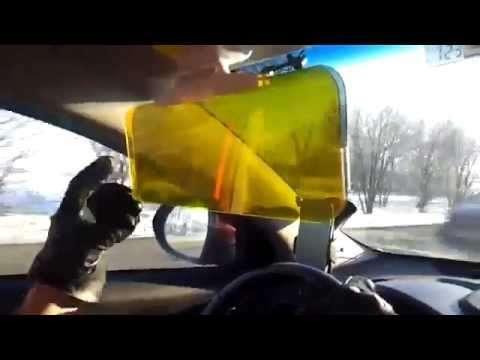 Солнцезащитный антибликовый козырёк! Нужный автоакссесуар! в Москве Фото 3