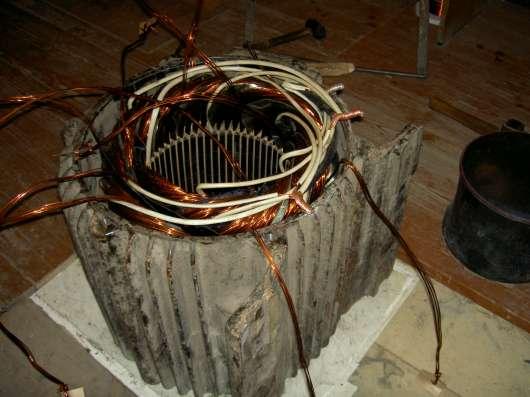 электродвигатели б/у , замена электрообмотки, подшипников