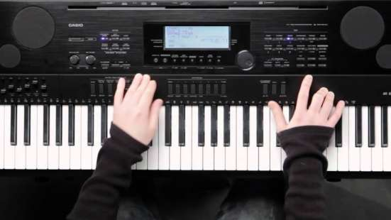 Синтезатор casio WK-7500
