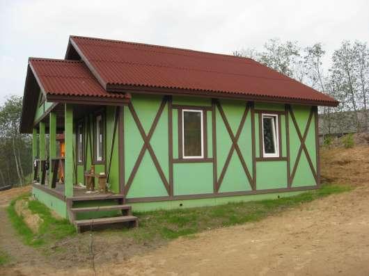 продам новый дом с баней и гаражом на порогах ояти