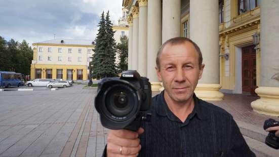 Видеооператор. Видеограф на свадьбу. Юбилеи.