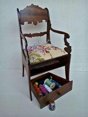 Шкатулка стул-кресло