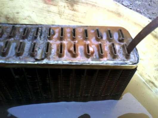 Пайка радиаторов