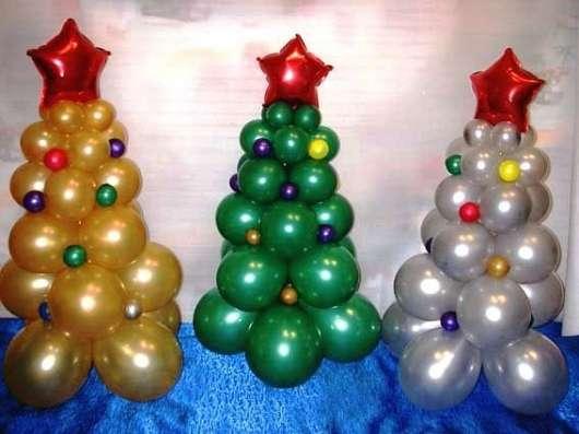 Оформление шарами на Новый год в Смоленске Фото 5