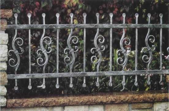 кованый забор, ворота, лестницы, перила...