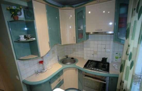 Кухни в хрущевку,маленькая кухня в Нижнем Новгороде Фото 1
