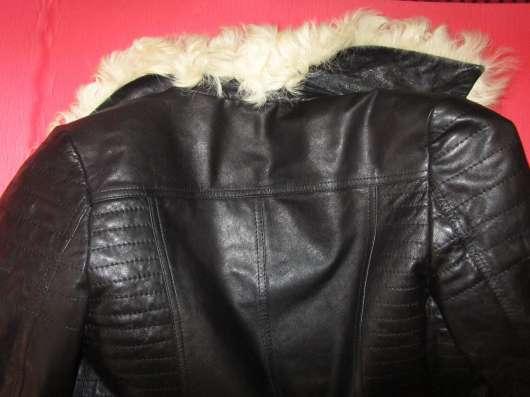 Меховая кожаная куртка в Нижнем Новгороде Фото 1