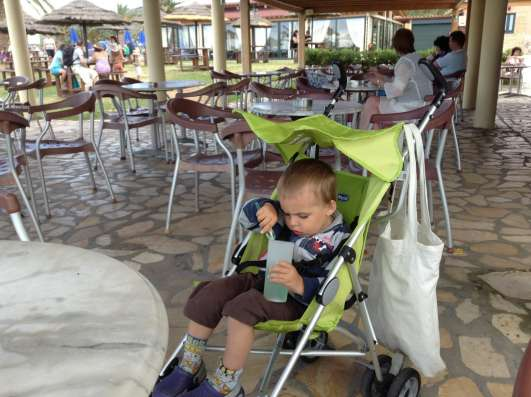 Детская коляска Chicco трость