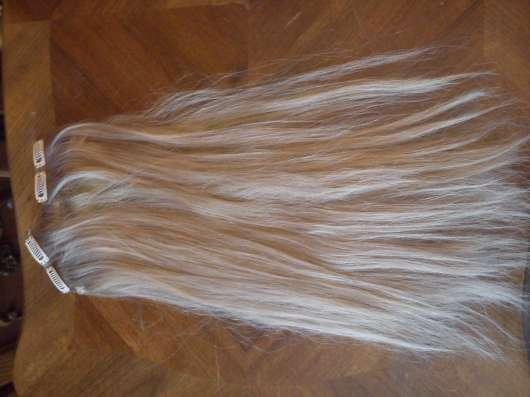 Пряди из натуральных волос