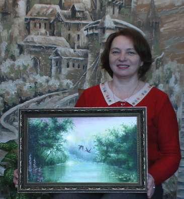 Картина маслом. Красивые пейзажи в наличии. в Омске Фото 3