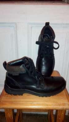 Демисезонные ботинки. Ecco.