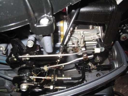 Продам отличный лодочный мотор YAMAHA 9,9, нога S (381мм)
