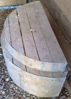 Кружала деревянные для облицовочного кирпича в Перми Фото 1