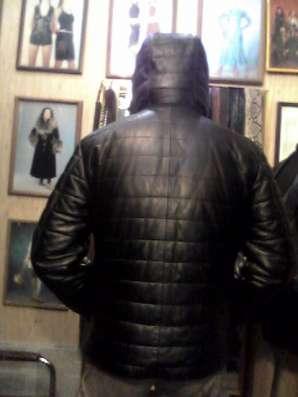 продаю куртку из прочной кожи