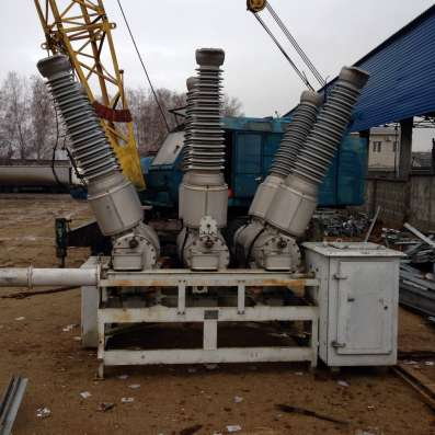 Выключатель элегазовый ВГБЭ-35, ВГТ-110, ВЭБ-110