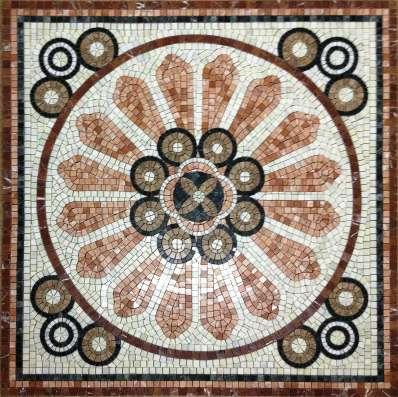 Мозаика мозаичное панно хамам бассейн фасад плитка