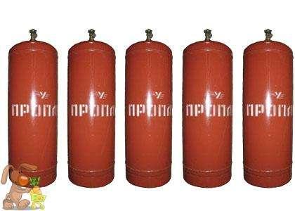 Газовый баллон 50л пропановый с газом