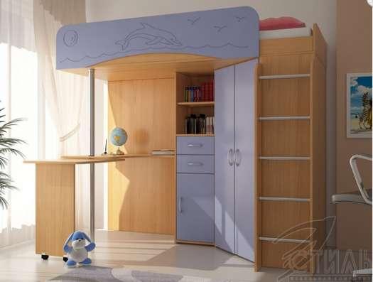 Детская кровать-чердак Мийа-1