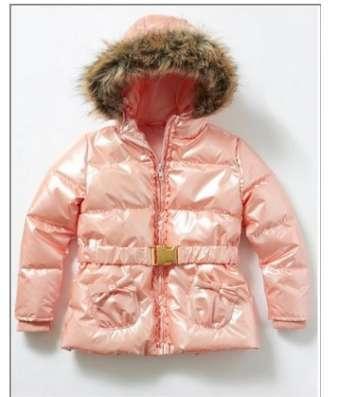 Детские курточки розовые, новые на рост 100 и 120 см