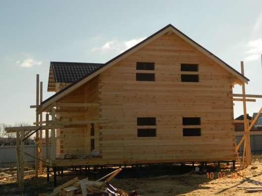 Строительство домов из бруса, профилированного бруса. в Воскресенске Фото 1