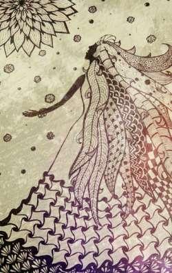 Базовый курс «Я рисую Дзен-Арт» (Лена Пухова)