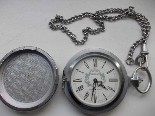 Часы карманные Победа в шкатулке. Есенин