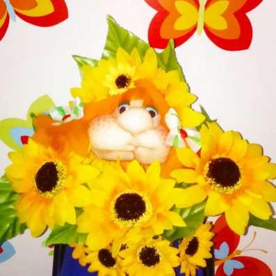 Топиарий-дерево счастья.Мордочки-цветочки в Ростове-на-Дону Фото 1