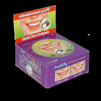 Зубная паста с мангустином из Таиланда