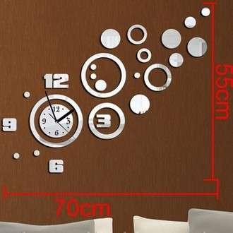 Зеркальные настенные часы в Кемерове Фото 2