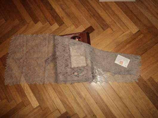 Оренбургские пуховые платки ручной работы