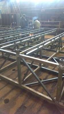 Красноярский завод металлоконструкций, производство, метал Фото 1