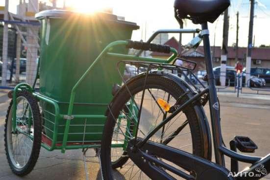 Велосипедная тележка прицеп мотаприцеп велоприцеп велосипед