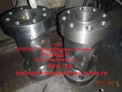 Тройник вставка ГОСТ 22805-83 Ру до 100 МПа