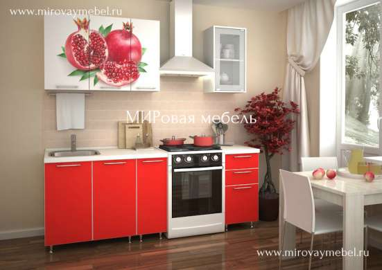 Кухни с фотопечатью в Мурманске Фото 2