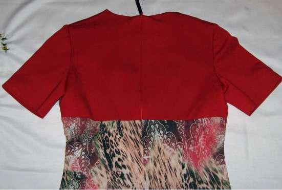 Платье новое с коротким рукавом, красным лифом. Торг в Пензе Фото 2