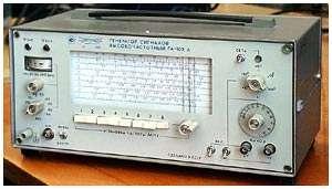 Генератор сигналов высокочастотный Г4-102А