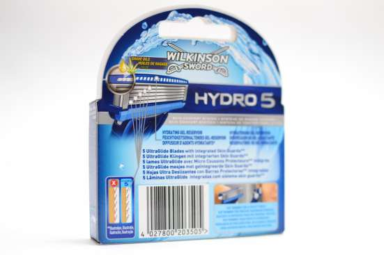 Сменные лезвия Wilkinson Sword (Hydro 5)
