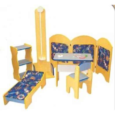 Игровая мебель Поликлиника (6 предметов) Б-7