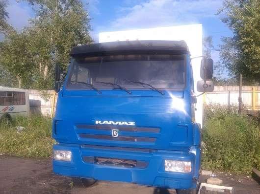 Камаз с изотермическим фургоном