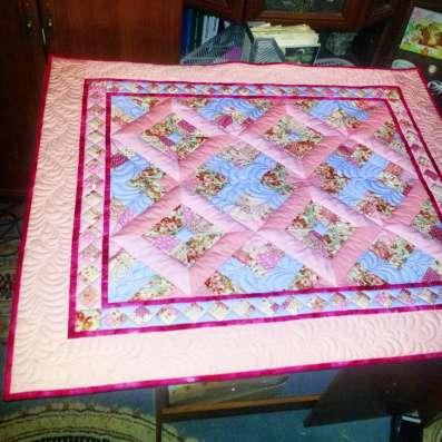 Комплект для девочки одеяло и подушка (hand made)