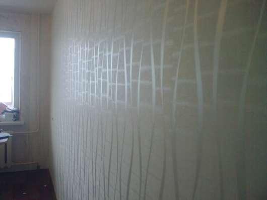 Поклейка обоев.Штукатурка.Шпаклевка.Покраска в Нижнем Новгороде Фото 2