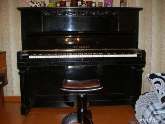 """Продам пианино """"ED.SEILER"""""""