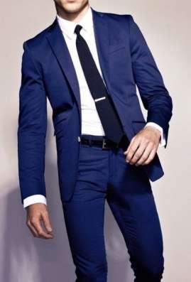 мужской классический костюм 48-50 синий прокат в Перми Фото 3