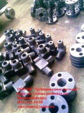 Угольник ОСТ 95.53-98 Ру до 100 МПа