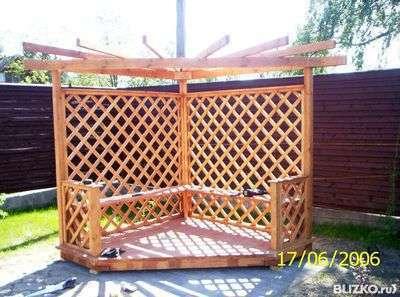 Шпалеры-деревянные решетки для окон беседок и оранжерей. в Пензе Фото 1
