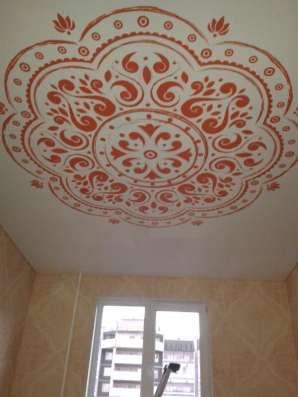 Натяжные потолки с фотопечатью на сатине, мате (ширина 320см в Екатеринбурге Фото 2