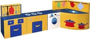 Мягкие игровые наборы, конструкторы для детской комнаты