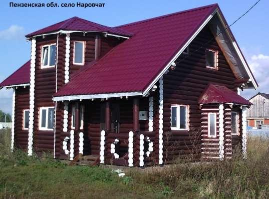 Профессиональное строительство загородных домов из дерева