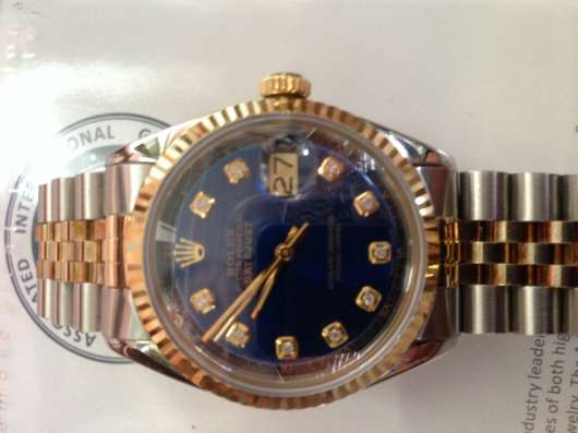 Rolex Datejust бриллианты. Оригинал