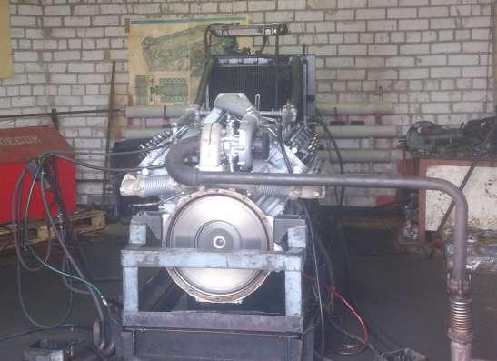 Капитальный ремонт двигателей ЯМЗ.